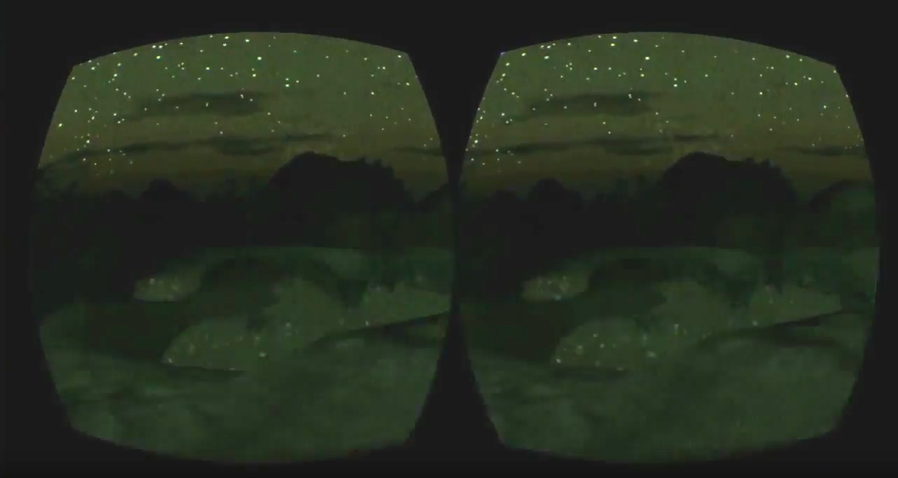 In a distance – Oculus Rift DK1 experimental Unity 3D project (2012)