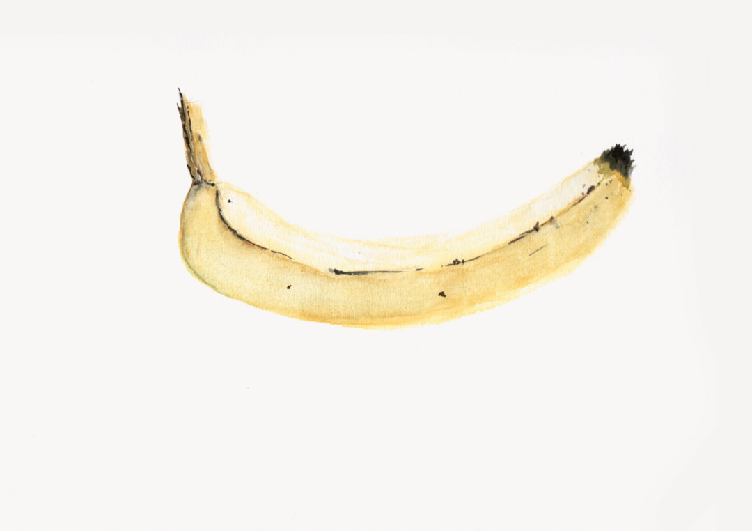 Banana Watercolor